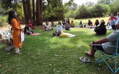OM Chanting and Living with Bhagavad Gita Talk